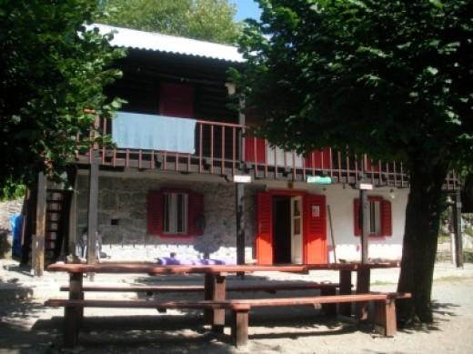 Paklenica mountain hut