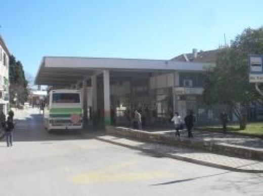 Rovinj bus station