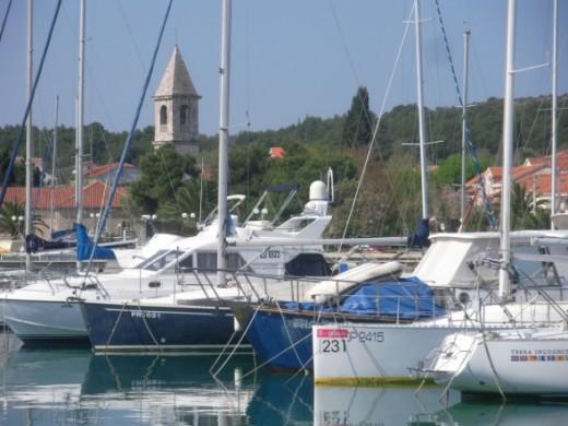 Kukljica on Ugljan island close to Zadar