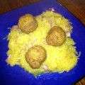 Fall Recipe: Pumpkin Turkey Meatballs & Garlic Spaghetti Squash