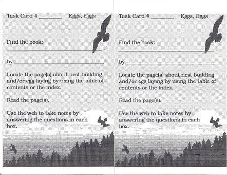 Eggs Center 3 Task Card