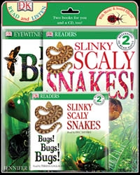 Slinky Snakes Book & CD