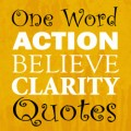 Powerful One Word Quotes and Affirmations That Can Change Your Life