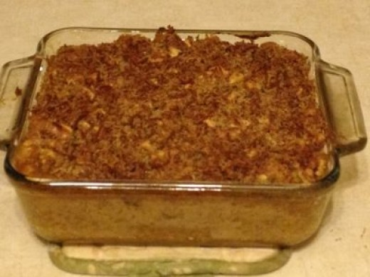 Bake for 30 Minutes at 350 Degrees and There You Have It!  Pumpkin Mac & Cheese!