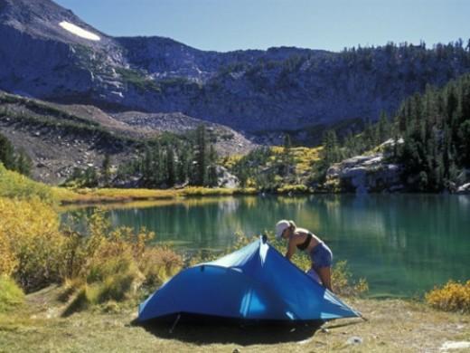 Laurel Lake Camp, Inyo National Park, California