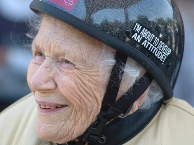 Bess Tancrelle: 102 Year Old Biker Chick