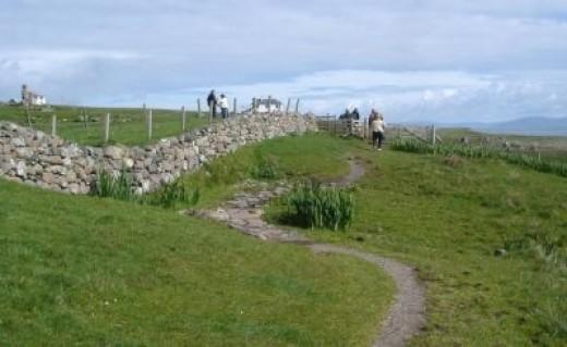 The Walk to St Columba Bay