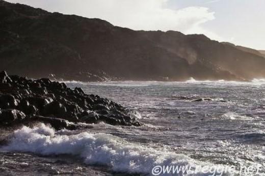 St Columba Bay on Iona, Scotland