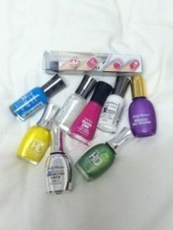 Road testing Sally Hansen nail products