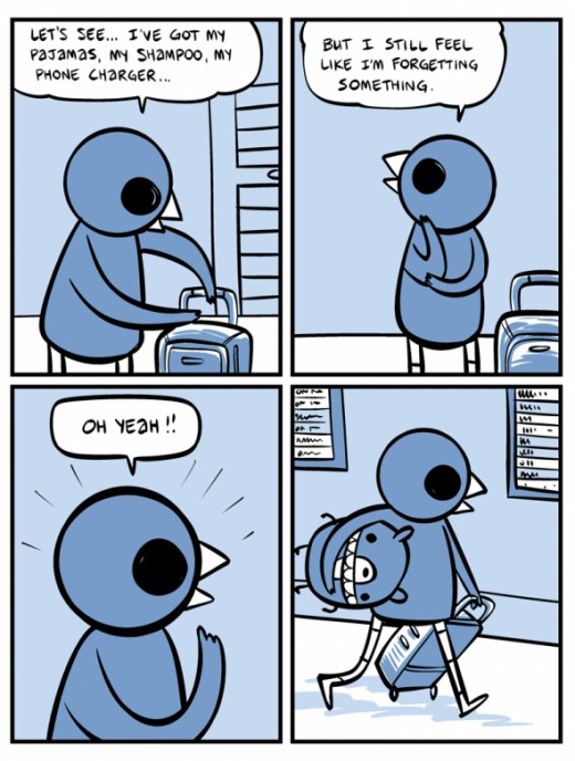 Best Nedroid Comic Pack It Up