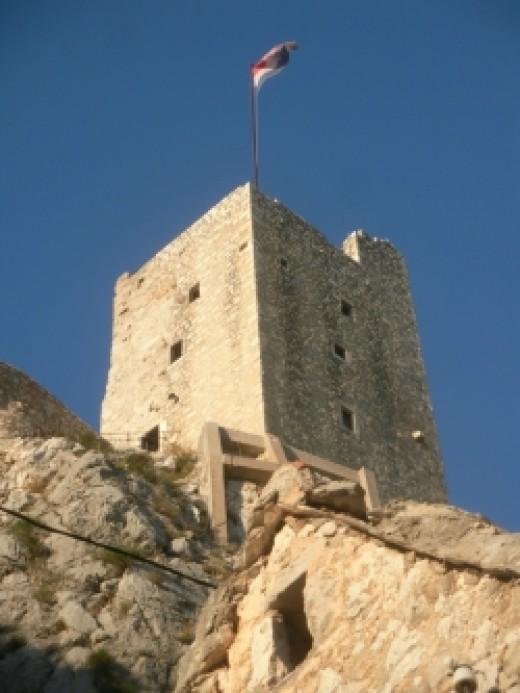 Omis Mirabela fortress