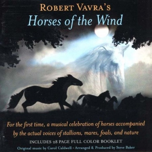 CD Cover for Robert Vavra's Horses of the Wind cd.