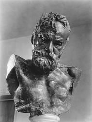 Bust of Victor Hugo by Rodin