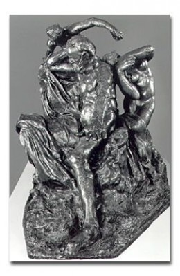 Rodin Honors Hugo with a Full Sculpture Depicting The Struggle for Human Rights