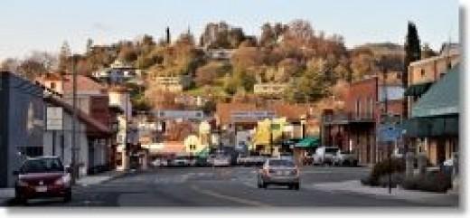 down town Sonora, ca