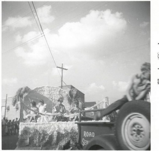 October Parade Coushatta, 1959