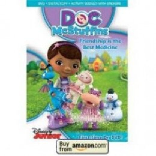 Doc McStuffins DVD