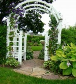 Garden of Ideas: Creating a Garden Pathway