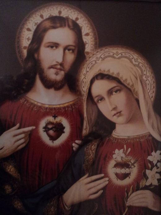 Sacred Hearts of Jesus & Mary - Heidi Vincent (FreshStart7)