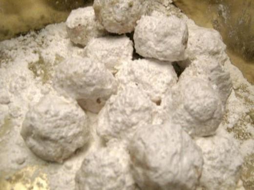 Russian Tea Cakes Cookie Public Domain