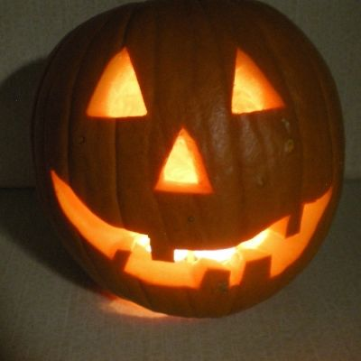 The Happy Halloween Pumpkin--THE END