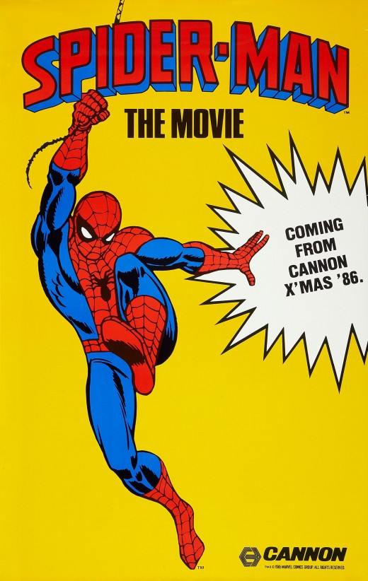 This poster promoted the Spider-Man film that never was.