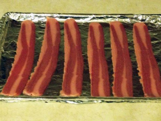 Bake the Turkey Bacon