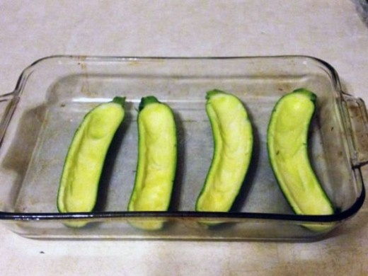 Prepare Zucchini for Baking