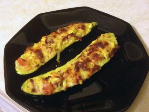 Bake Zucchini Boats
