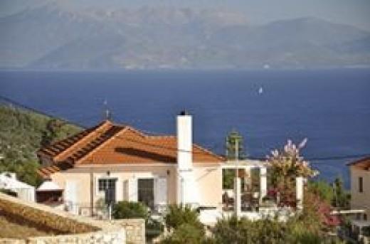 villa in kefalonia