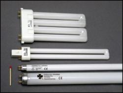 Fluorescent light bulbs