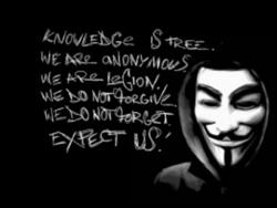 Anonymous slogan