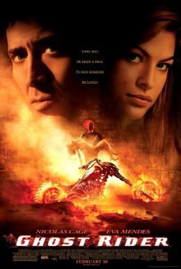 Ghost Rider starred Nicolas Cage. Nuff said.
