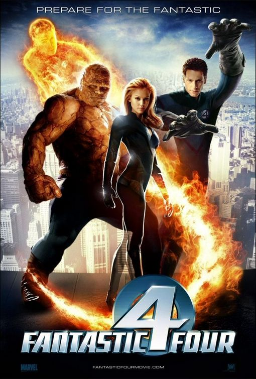 The Fantastic Four was not really a bad movie, just very disappointing.