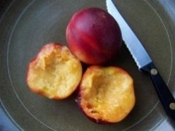 Grilled Fruit 3 - Nectarines (Dessert)