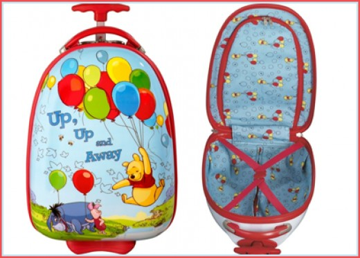 Winnie The Pooh Suitcases
