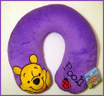 Disney Winnie the Pooh Neck Travel Pillow