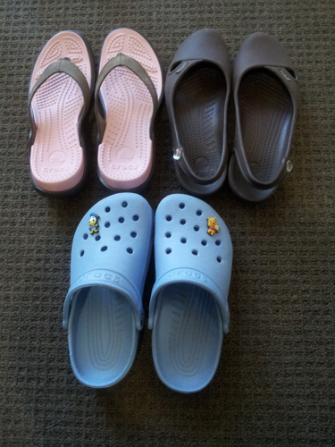 My Crocs Shoes Collection: Capri IV, Olivia & Clog
