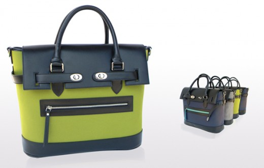 Reid satchels by PLIA Designs.