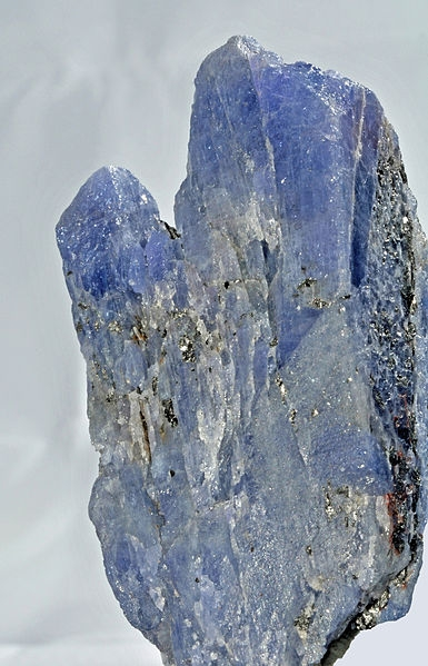 Another example of the beautiful tanzanite crystal.
