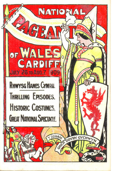 National Postcard Fair announcement.