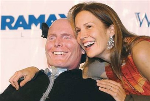 DANA REEVE ( Lung Cancer )