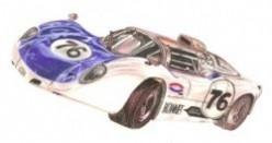 Howmet TX Gas Turbine Race Car