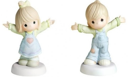 Precious Moments Figurine - Boyfriend & Girlfriend