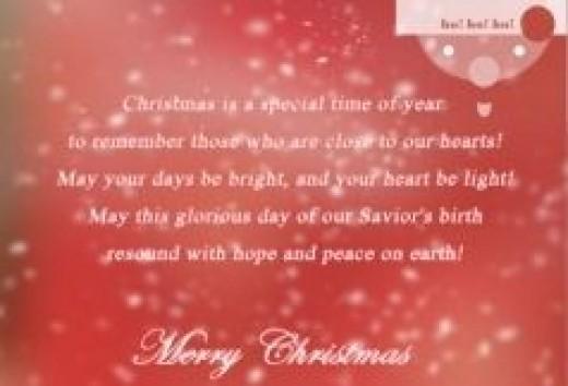 Christmas Card Wording Ideas