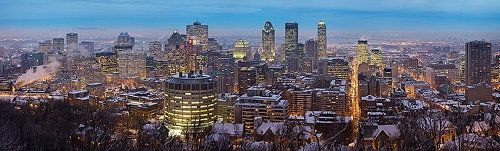 Montreal from Mont Royal