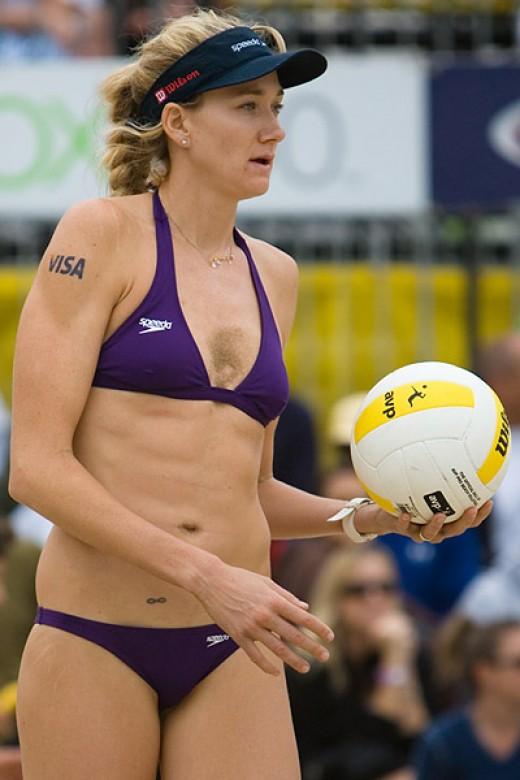 Kerri Walsh - American professional beach volleyball player.