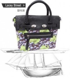 Kick the Season off with PLIA Designs Blueberry Bag.