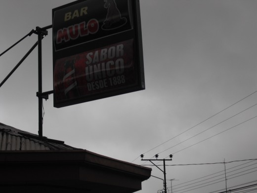 The oldest Bar in Costa Rica, apparently.
