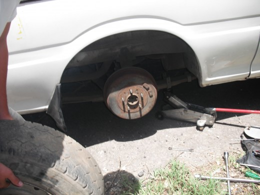Flat Tire-Courtesy Of personal Images